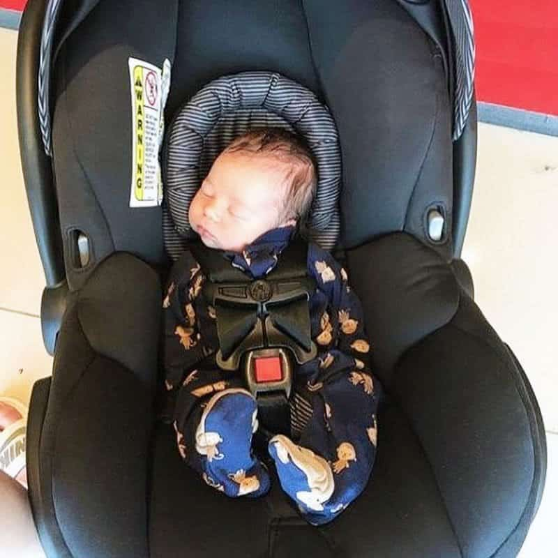 cautions relating to infant car seats