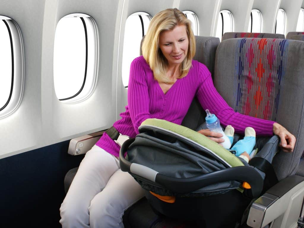 car seat laws on airplanes
