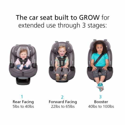 Best Car Seats For 3 Year Old Toddlers, How To Install Safety 1st Car Seat Rear Facing With Belt