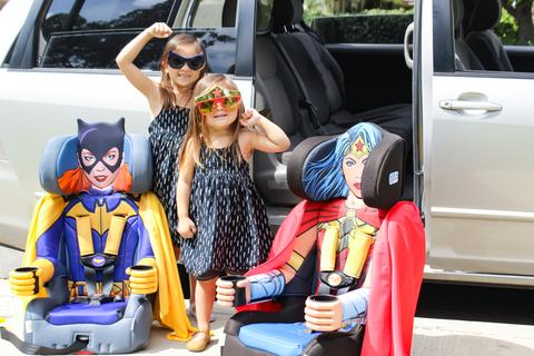 superhero car seat