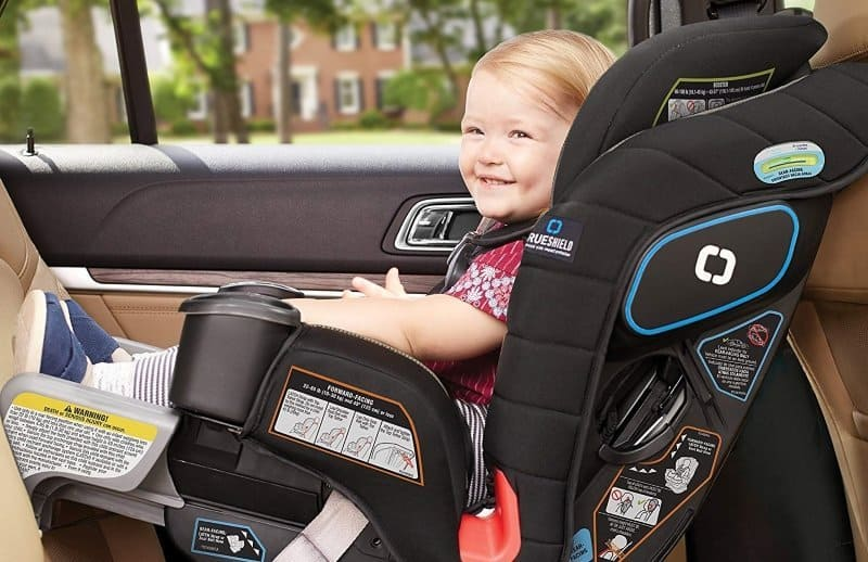 Graco Baby Extend2Fit Platinum Convertible Car Seat Child Safety Hurley NEW