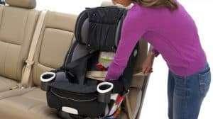 Front Facing using Seat Belt