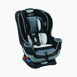 Graco Extend2Fit Convertible Baby Infant Toddler Child Car Seat Gotham Safety