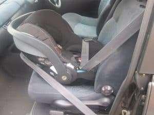 Rear-Facing using Seat Belt