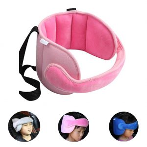 StoHua Toddler Car Seat Head Support Neck Pillow Strap