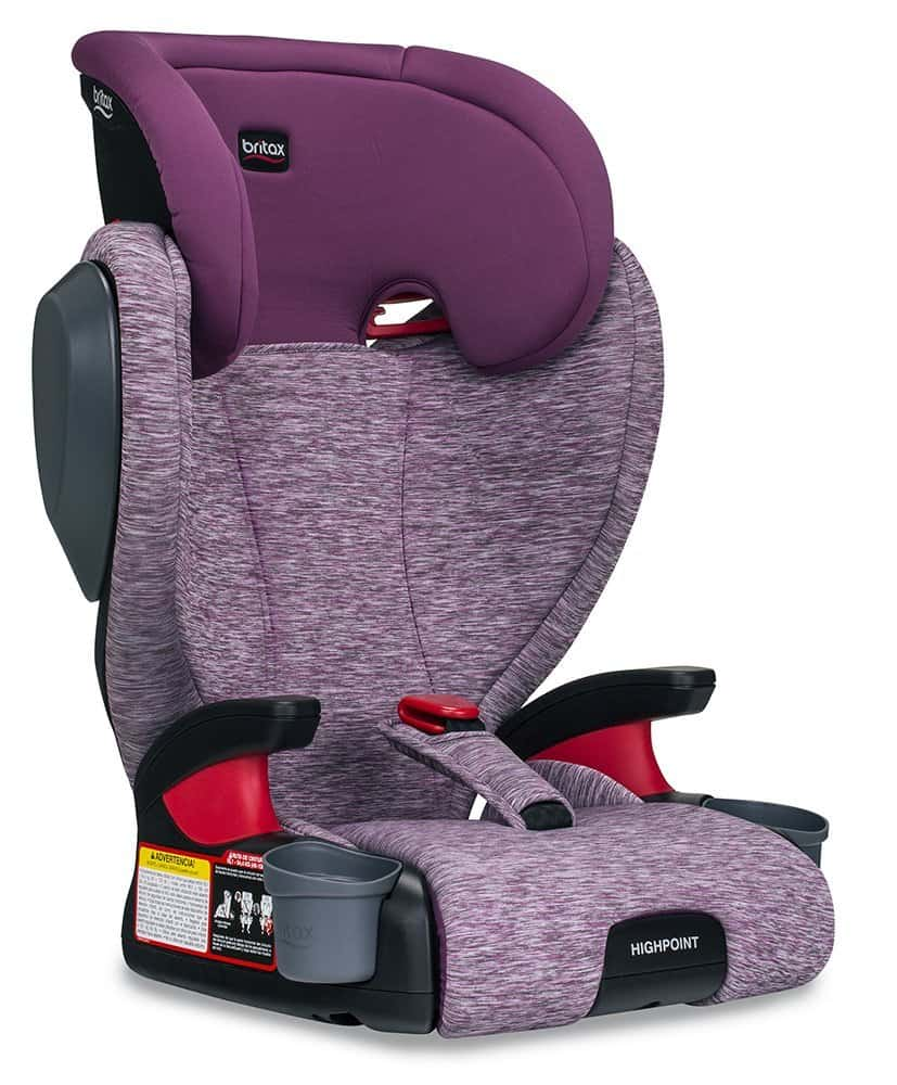 Britax Essentials Skyline Belt-Positioning Child Safety Booster Car Seat Teal