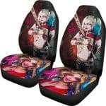 Harley Quinn Car Seat Covers Fan Gift NH08
