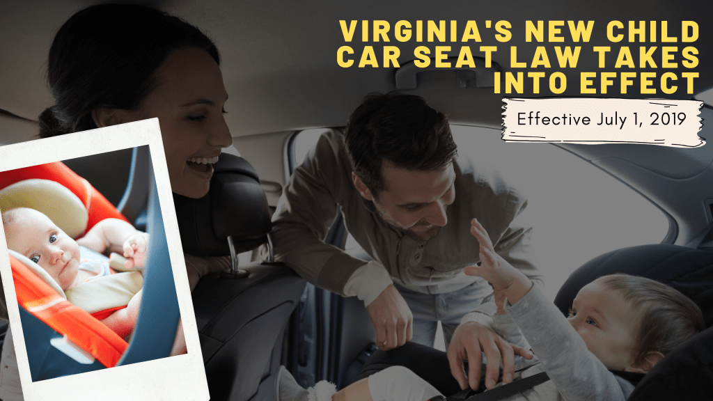 virginia car seat laws 2016