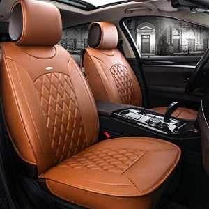JOJOHON Luxury PU Leather Car Seat Cover: The Leather Option