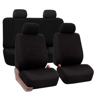 FH Group Universal Fit Flat Cloth Bucket Seat Cover: The Cloth Option