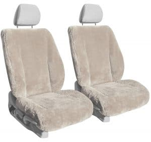 Shear Comfort Sheepskin Seat Covers: The Softest Cover