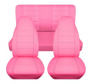 Totally Covers Solid Color Car Seat Covers: The Colorful Option