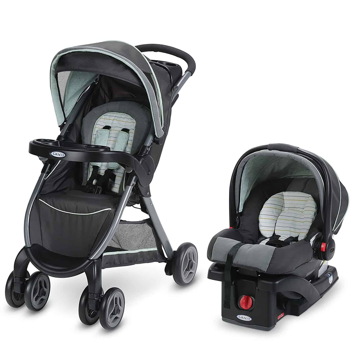 Graco FastAction Fold Click Connect Travel System Reviewed