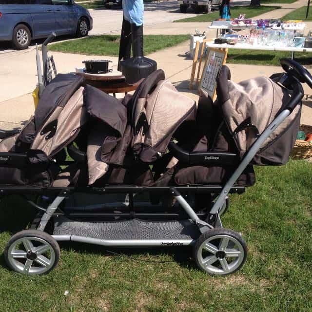 Peg Perego Triplette Stroller