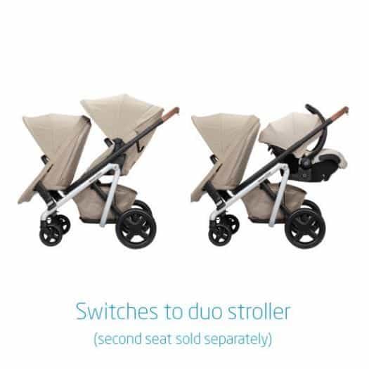 Maxi Cosi dual stroller