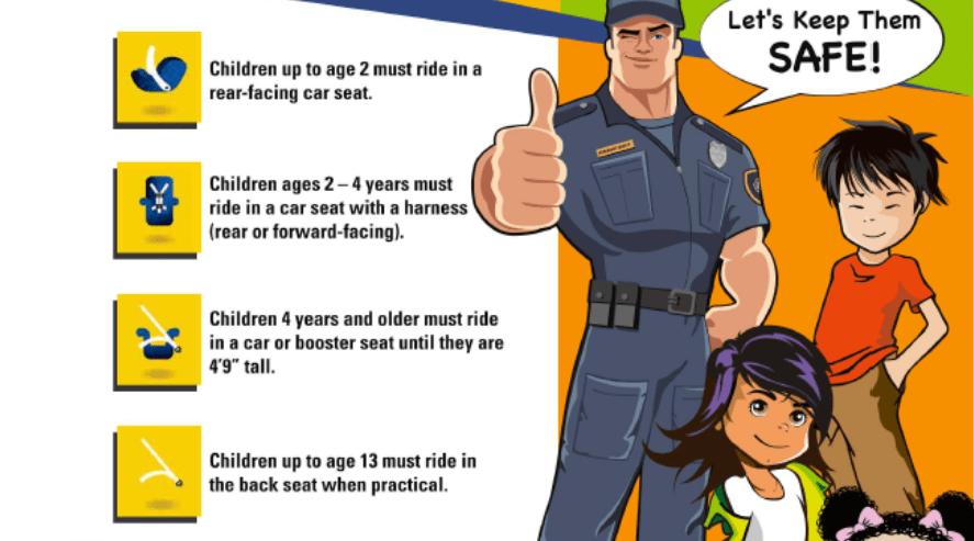 WA Car Seat Laws