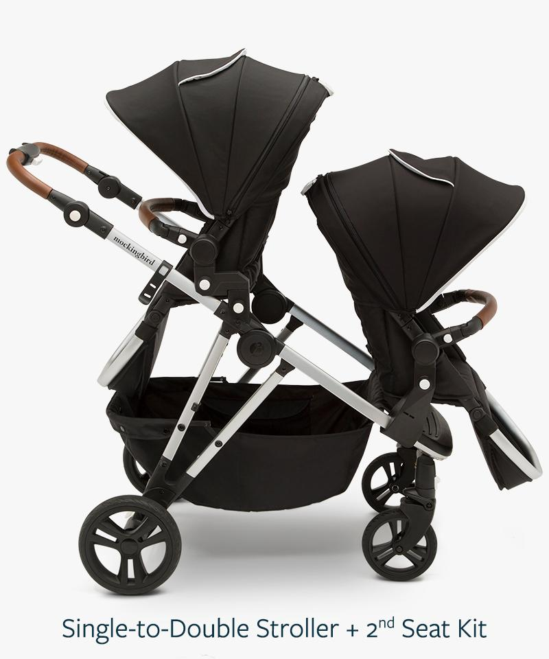 Mockingbird Single to Double Stroller
