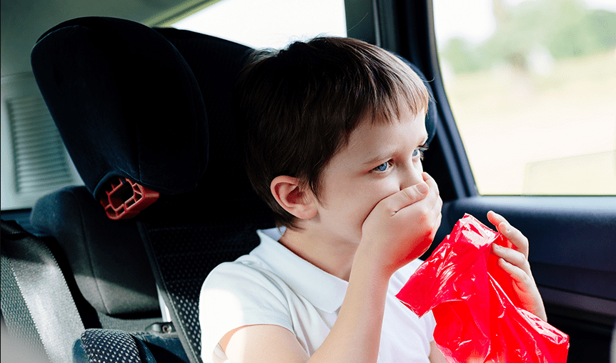 How To Clean Vomit From A Car Seat