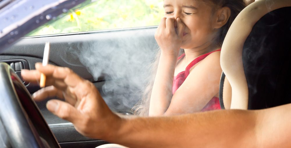 Illegal to Smoke in a Car with a Child in Wisconsin