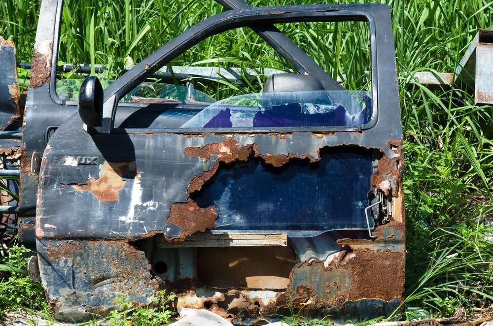Too Much Rust Is When Door Crumbles
